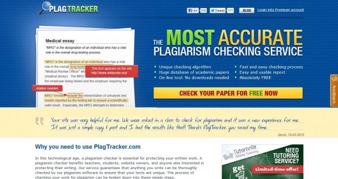 PlagTracker